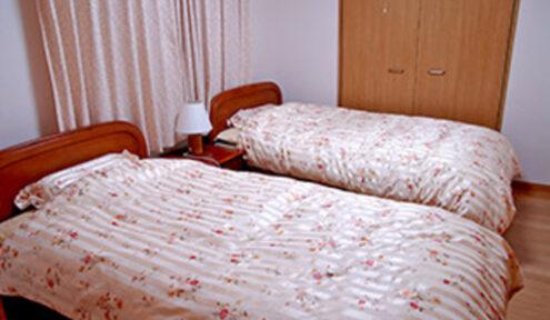 2人入居の場合でも、1室を寝室として利用できます。
