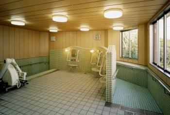 デイサービス大浴場 介護が必要になった時も安心です。