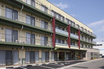 和風旅館の様な趣ある建物