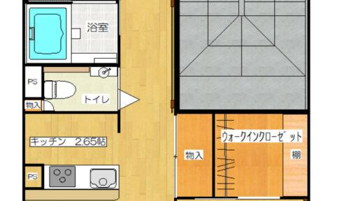【一般居室】お部屋の間取りの一例です。  (134戸あり、51.13㎡~124.30㎡まで様々な広さ、間取りのお部屋がございます)  ※ご案内できるお部屋は、空室状況により変動いたします。