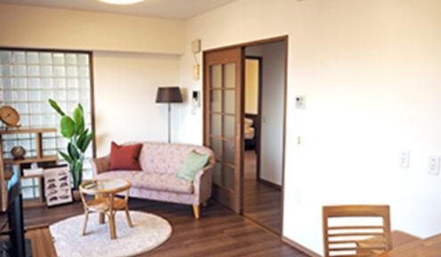 リビングには床暖房、浴室には暖房乾燥機能付き。
