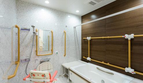 ラポール菅生 浴室