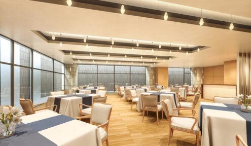 ホスピタルメント白金 食堂